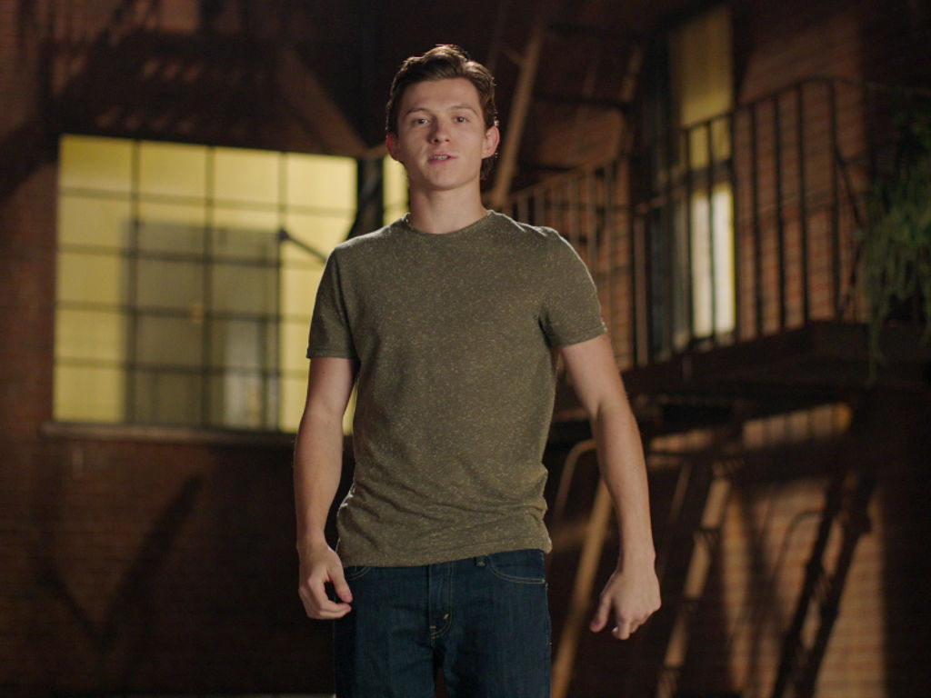 Tom Holland - Spider man in the avenger